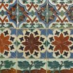 18 piastrelle in ceramica