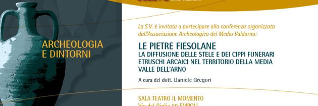 Le Pietre Fiesolane – Conferenza