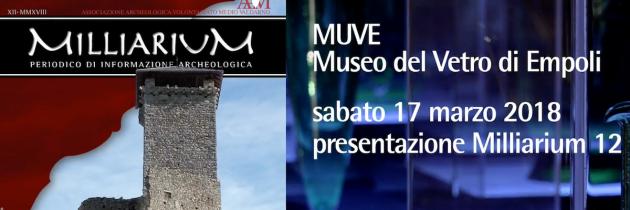 Video della presentazione del numero 12 di Milliarium