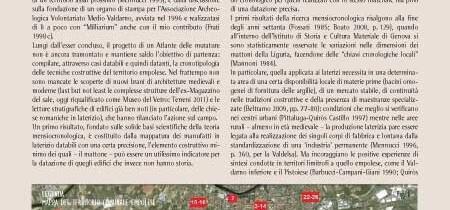 Verso un atlante delle murature a Empoli
