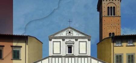 La facciata della Pieve di Sant'Andrea