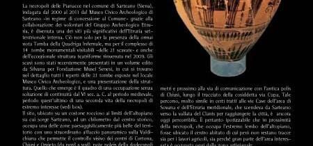 La necropoli delle Pianacce a Sarteano