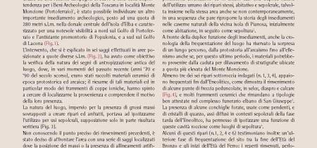 Lo scavo di Monte Moncione
