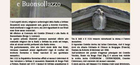 La Badia a Settimo (Scandicci) e due sue filiali