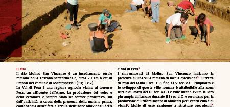L'insediamento rurale romano di Molino San Vincenzo a Montespertoli
