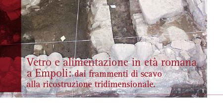 Vetro e alimentazione in età romana a Empoli