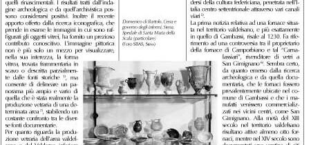 IL VETRO IN TOSCANA DAL XIII AL XVII SECOLO