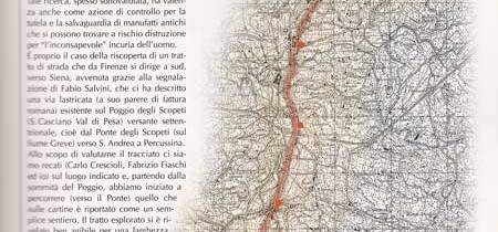 Un'antica strada tra Firenze e Siena