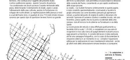 La grande scacchiera, resti della centuriazione nella pianura tra Firenze e Prato