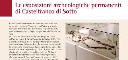 Le esposizioni archeologiche permanenti di Castelfranco di Sotto