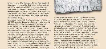 Signa e la Pieve vecchia di S. Lorenzo