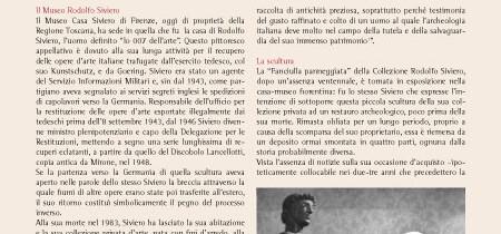 """La """"Fanciulla pannegiata"""" della Collezione Rodolfo Siviero"""