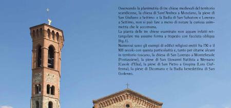 Considerazioni sulle asimmetrie di alcune chiese medievali