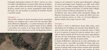 Indagini archeologiche in località Colle Mustarola